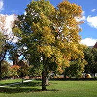 Photo taken at UVM Green by Harjit on 10/9/2012