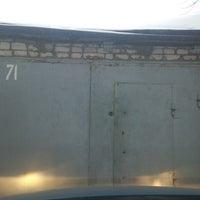 Photo taken at гаражи на пролетарке by Андрей М. on 3/14/2013