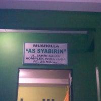 Photo taken at Musholla as syabirin by agus k. on 7/28/2013