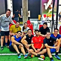 Photo taken at Futbox Futsal Center by Orlando M. on 11/21/2012