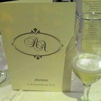 Photo taken at Restaurante Tartine by Ricardo S. on 12/16/2012