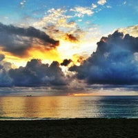 Photo taken at Fort Lauderdale Beach by Scott E. on 10/7/2012