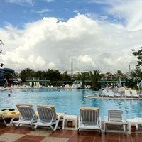 Photo taken at Turan Prince Aquapark by Fatih T. on 5/11/2013