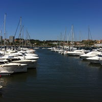 Photo taken at Douro Marina by Lina G. on 5/11/2013