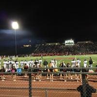 Photo taken at Redondo Union Football Stadium by James C. on 10/27/2012
