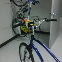 Photo taken at Qualcomm Bicycle Storage Room Building N by Christiane .. on 3/20/2013