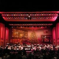 Photo taken at Copley Symphony Hall by Christiane .. on 12/22/2012