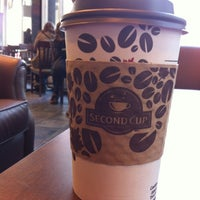 Photo taken at Second Cup by Kyla on 10/1/2012