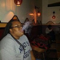 Photo taken at Nara Hookah Lounge by Jarrett P. on 5/26/2013