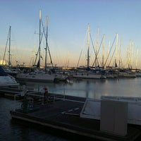 Photo taken at Marina do Parque das Nações by Bern Y. on 10/2/2012