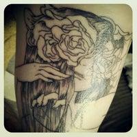 Photo taken at Aerochild Tattoos by Keith E. on 1/30/2013