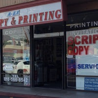Photo taken at A-Ex Copy & Printing by Babette C. on 11/7/2013