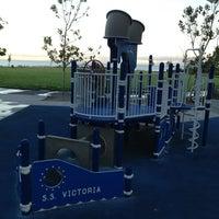 Photo taken at Victoria Park by Babette C. on 8/30/2013