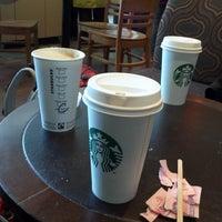 Photo taken at Starbucks by Marina D. on 4/22/2013
