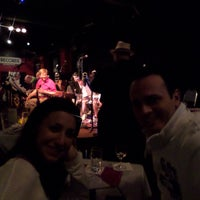Photo taken at Tula's Restaurant and Jazz Club by Tunay Ş. on 9/8/2014