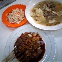 Photo taken at Sate Kambing Kim Tek by Johanes H. on 10/6/2012