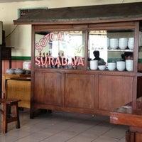 Photo taken at Soto Surabaya Cigading by Johanes H. on 5/8/2013
