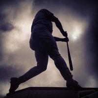 Photo taken at Tony Gwynn Statue by Ꮿ ॐ. on 1/26/2013