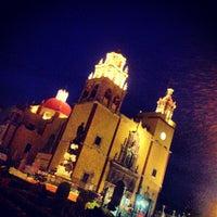 Photo taken at Basílica Colegiata de Nuestra Señora de Guanajuato by Ꮿ ॐ. on 5/29/2013