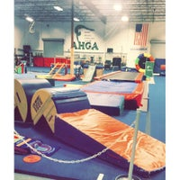 Photo taken at Alamo Heights Gymnastics Academy by Michelle on 8/20/2015