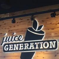 8/16/2017 tarihinde Juan C.ziyaretçi tarafından Juice Generation'de çekilen fotoğraf