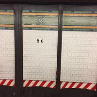 Photo taken at MTA Subway - 86th St (R) by Juan C. on 7/17/2017