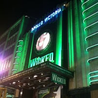 Photo taken at Apollo Victoria Theatre by Jessie L. on 11/21/2012