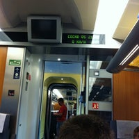 Photo taken at AVE Valencia-Madrid by Richard L. on 6/16/2013