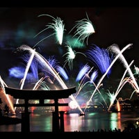 Photo taken at IllumiNations: Reflections of Earth by Mark S. on 3/1/2013