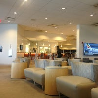 Photo taken at Delta Sky Club by Lida H. on 7/19/2013
