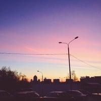 Photo taken at Остановка «Литовский бульвар» by Andrew Z. on 3/19/2014