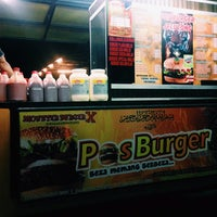 Photo taken at Pos Burger by Muhammad A. on 9/29/2014
