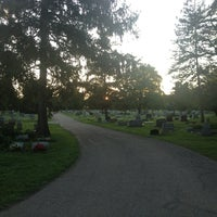 Photo taken at Union Cemetery by Backlighting on 8/15/2013