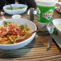 Photo taken at Super Salads by Elias G. on 5/12/2013