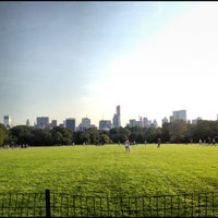 Photo taken at Great Lawn - Central Park by Joshua B. on 9/26/2012