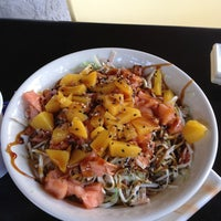 Photo taken at Sushi Market by Maria P. on 12/29/2012