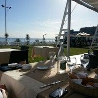 Photo taken at Aquatic Restaurant et Salon de thé by Mehrez S. on 11/9/2012