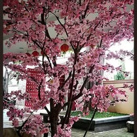 Photo taken at Vihara Kesejahteraan (Wan Fu Si) by Shantee L. on 4/29/2014