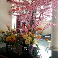 Photo taken at Vihara Kesejahteraan (Wan Fu Si) by Shantee L. on 6/2/2014