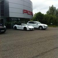 Photo taken at Porsche Zentrum Heilbronn by Ingo H. on 6/25/2013