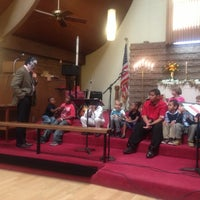 Photo taken at Florin United Methodist Church by Beth S. on 10/28/2012