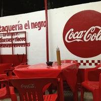 """Photo taken at Taquería """"El Negro"""" by Julio Alejandro L. on 5/18/2013"""