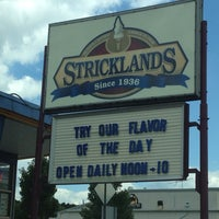 Photo taken at Strickland's Frozen Custard by Michael on 7/30/2013