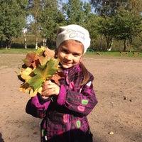 Photo taken at Детская площадка перед ж/д by Olga D. on 9/20/2014