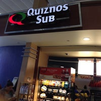 Photo taken at Quizno's by Melissa Q. on 4/25/2014