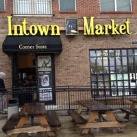 Photo taken at Intown Market by Melissa Q. on 3/28/2014