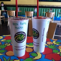 Photo taken at Tropical Smoothie by donald l. on 1/23/2013