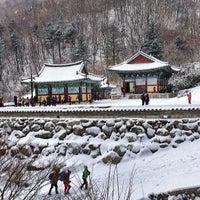 Photo taken at Deogyusan National Park by korea photo on 2/9/2014