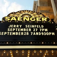 Photo taken at Saenger Theatre by Bruce B. on 9/28/2013