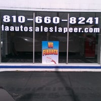Photo taken at LA AUTO SALES by Brandon S. on 9/24/2012